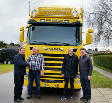 Scania inkl. stor servicepakke til S.N.N. Truck- & Lifttransport