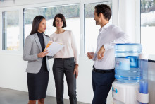 Det här kan hända om du dricker för lite vatten på jobbet