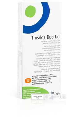 Thealoz Duo – naturlig hjälp mot torra ögon med trehalos
