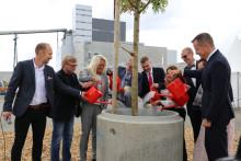 Nu kan Borås fortsätta växa. Energi- och Miljöcenter på Sobacken i Borås är invigt.