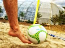 Spektakuläre Aktionen bei Beachsoccer-Cup und Qualifikationsturnier im Tropical Islands
