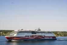 Viking Line donerar 570 000 kronor till miljöarbetet i Östersjön