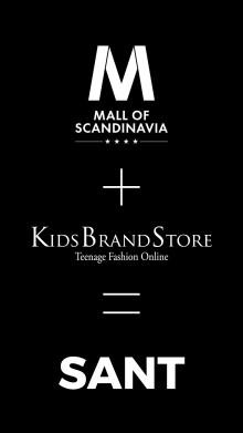 4 maj öppnar KidsBrandStore i Mall of Scandinavia