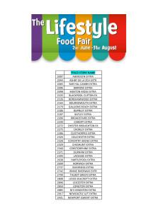 Frebacos nötfria müsli och gröt nu i Storbritannien som del av Lifestyle Food Fair i livsmedelskedjan Tesco