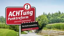 Punktreform – ein Jahr danach: Kein Punktsieg für die Verkehrssicherheit