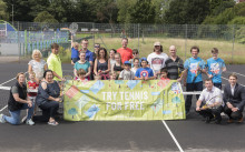 New improved tennis courts on the way in Prestwich