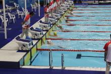 Johannes Skagius simmar final i 50m bröstsim i Sommaruniversiaden