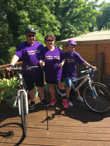 10-year-old tackles Thames Bridges Bike Ride for the Stroke Association