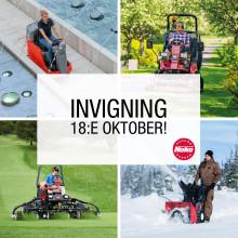 Invigning av våra nya lokaler i Brunna/Kungsängen den 18:e oktober.