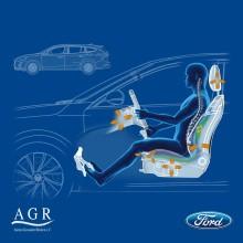 Noul Ford Focus este recunoscut de experții în medicină pentru capacitatea sa de a atenua durerile de spate ale șoferilor