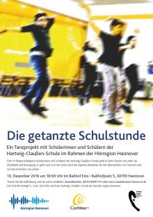 Tanzprojekt: Hörgeschädigte Jugendliche tanzen eine Schulstunde