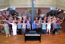 Local choirs put vocal chords to the test for children's charity