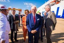 Stena Line takes delivery of Irish Sea-bound ferry at China shipyard