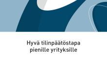 Uudistettu Hyvä tilinpäätöstapa pienille yrityksille -kirja on tilattavissa