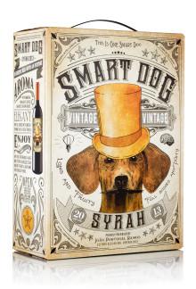 Ny generös årgång av Smart Dog Syrah!