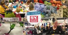 Unik utställning på vårens Sy- och Hantverksfestival på Stockholmsmässan 23–25 februari 2018