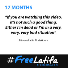 17 Months - A critical month as Princess Latifa's eminent legal team ask 'Do we stand for the rule of law or not?'