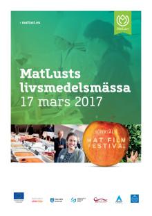 Utställarinfo MatLusts Livsmedelsmässa 17 mars 2017