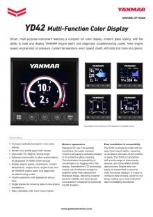 YANMAR YD42 datasheet