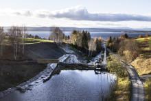 Kundägd vattenkraft i Billstaån