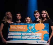 Pilängskolan 9D vann 2018 års final av Spänningssökarna!