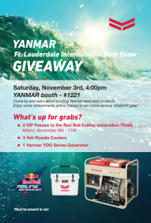 YANMAR Fort Lauderdale Giveaway event