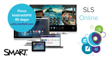 Nu går världsledande undervisningsmjukvaran SMART Learning Suite online