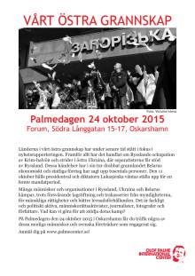 Affisch: Palmedagen