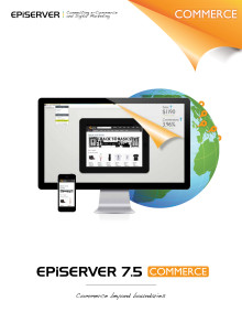 EPiServer 7.5 Commerce produktblad