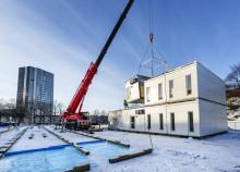 Ny paviljong löser skolkrisen på Norrmalm