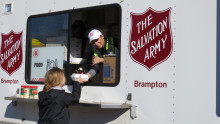Salvation Army Responds to Flooding in Three Canadian Provinces