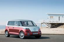 Världspremiär för ny eldriven Volkswagen-buss i Genève
