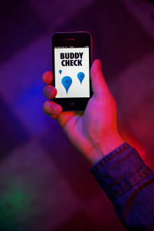 BUDDY CHECK – THE SOCIAL APP THAT KEEPS FRIENDS TOGETHER WHEN GOING OUT