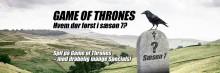 Drager, dødsfjender og kærlighed – Danske Spil sætter odds på 7 sæson af Game of Thrones