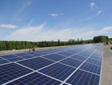 Suomen suurimman aurinkosähköpuiston rakentaminen on käynnistynyt
