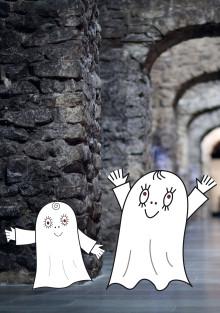 Spöket Laban i slottet Gomorronsol - välkommen till pressvisning den 29/4