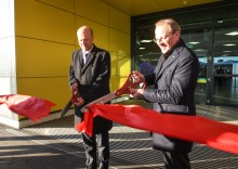 Transport Secretary marks completion of London Luton Airport's £160m transformation