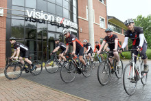 Vision Express reveals the line-up for its 30th anniversary Ride4Sight cycle team