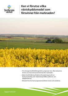 Rapport om prognoser för växtskyddsmedel