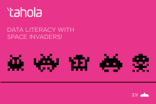 Try your hand at Data Literacy with Space Invaders......
