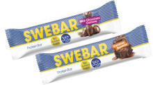 För alla chokladälskare – Swebar lanserar de oslagbara kombinationerna Milk Chocolate Cashew och Caramel Brownie!