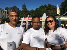 Plats för debatt på Tellusfestivalen i Bergsjön