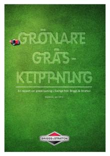 Rapport Grönare gräsklippning