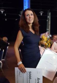 Grattis Nicola och Förenade Care Vilhelms Gård till ett välförtjänt pris