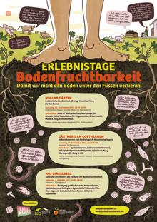 Gesunde Ernährung braucht gesunden Boden. Erlebnistage Bodenfruchtbarkeit am Goetheanum