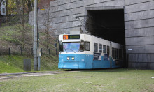 Trafikinformation: Chalmerstunneln avstängd för spårvagnstrafik 18 okt-2 nov