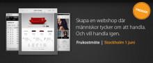 Sitoo lanserar ny e-handelsplattform. Välkommen på förhandsvisning!