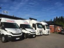 Sadex Oy uusii kalustoaan hankkimalla lisää uusia Iveco Dailyjä