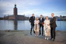Stockholm hjärta kärlek – bröllopsfotografier förr och nu