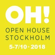 Humlegården är partner till Open House 2018